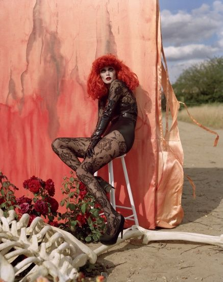 Tim Burton shoot by Tim Walker