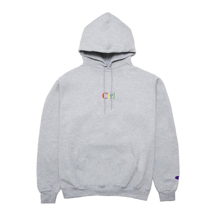 Ctrl Hoodie (Grey) - PRE-SALE: ORDER WILL SHIP OUT BY JULY 10