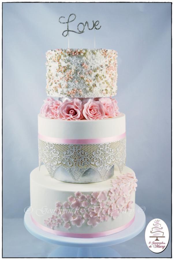 Wedding cake - Cake by Ô gourmandises de Mary