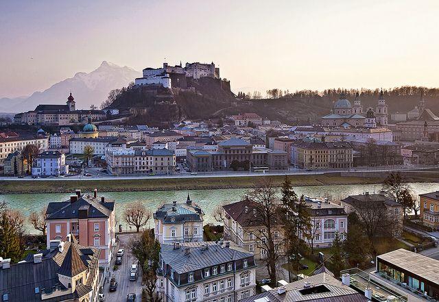 Salzburg im Abendlicht  by Robert Schüller, via Flickr: Favorite Places, Favourite Places, Salzburg Austria, Beautiful Places, Travel, Pretty Places, Destination