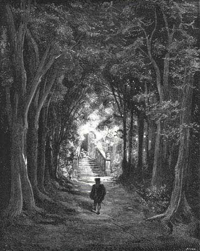These illustrations came from:    Les Contes de Perrault, dessins par Gustave Doré. Paris: J. Hetzel, 1867.