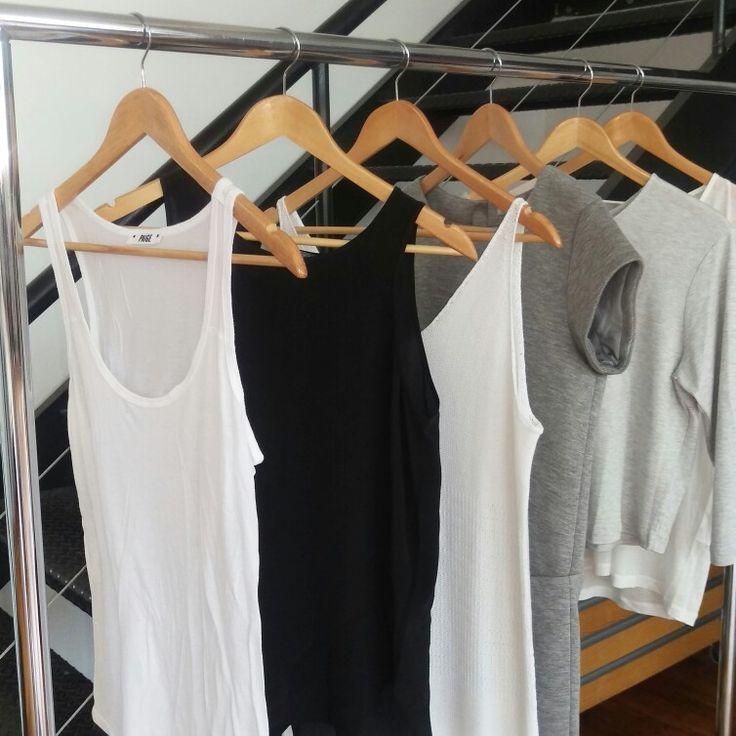 A well edited wardrobe