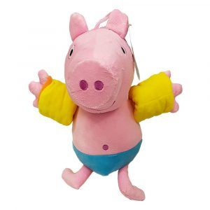 George Pig Swimming Plush Toys Unique design by PlushDirect based on the Nickelodeon show, Peppa Pig
