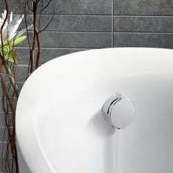 BATH FILLER (KLU-01) Bath Filler With Waste  Size W 830 x D 70 x H 70 mm