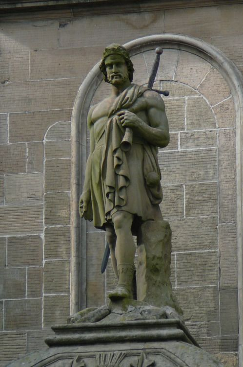 """William Wallace The hero of movie """"Braveheat"""" Stirling, Scotland, UK. (Photo by Kevin Nichol)"""