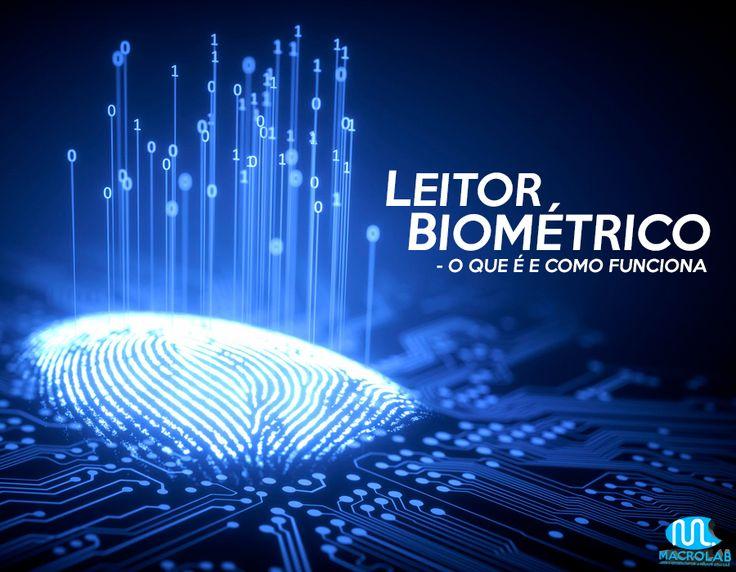 #Leitor #Biométrico ;)  Atualmente a #Biometria vem tomando um grande #espaço e Substituindo #funções importantes no dia a dia de muitos.O #Cartão é um #exemplo disso. Antigamente você precisava de um para acessar sua #conta em um #caixa #eletrônico, hoje em dia a maioria dos #Bancos já disponibilizam a #opção da #biometria e o #cartão já não é mais #necessário.  Conheça um pouco mais sobre essa #tecnologia no nosso #Blog.