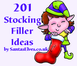 Stuck for ideas for stocking fillers? Here's 201 Stocking Filler Ideas by Santa's Elves #Christmas