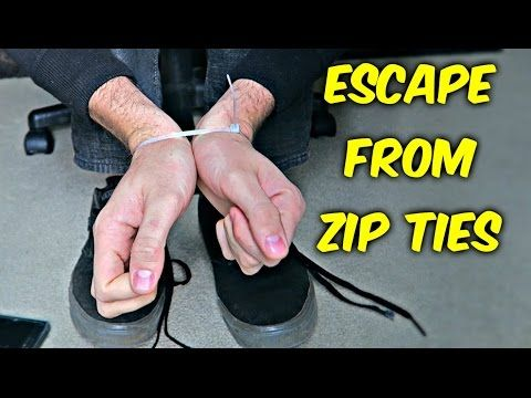Hopefully You're Never Stuck in This Bind, But if You Are, This is How to Escape Zip Ties | StoriesOfTheDay