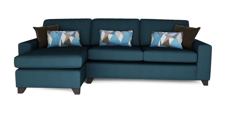 Lustre Left Hand Facing Chaise End 3 Seater Sofa | DFS Banken