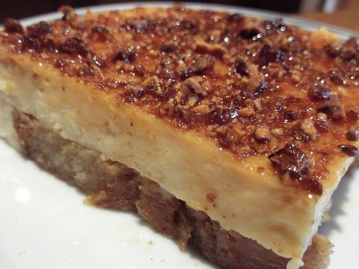 Γλυκο ψυγειου με Φρυγανιες και Ανθος Αραβοσιτου. και Καραμελωμενα Αμυγδαλα. (Γιωργος) Olga's cuisine...και καλη σας ορεξη!