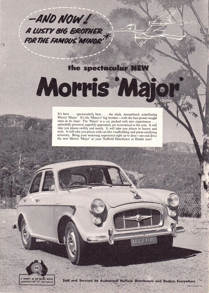 https://flic.kr/p/f6Mtc9   '58 Morris Major BMC (Aussie)