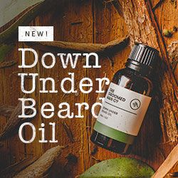 Our new Australian beard oil is here. Down Under Beard Oil is a bit of Australia in a bottle for your best beard yet!