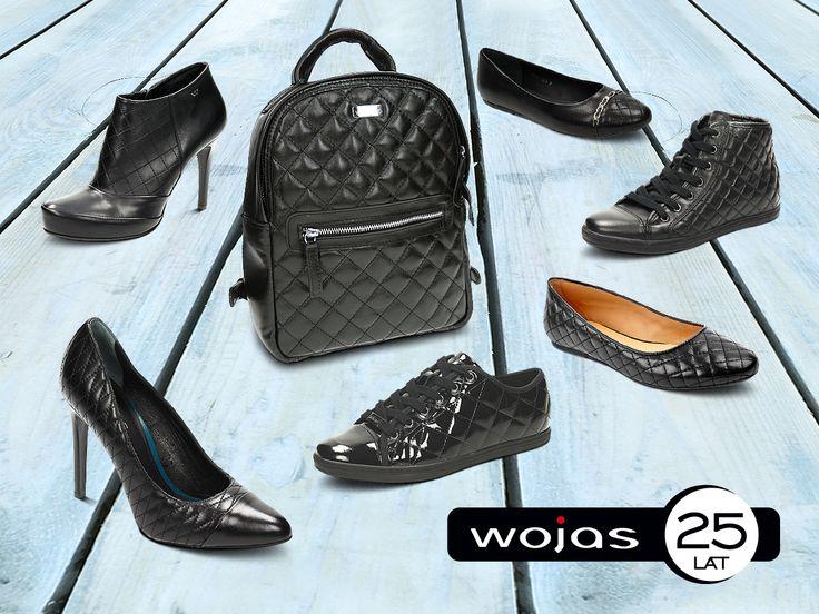 Modne pikowane obuwie i dodatki w jesienno-zimowej kolekcji marki Wojas. Zapraszamy do salonów firmowych i sklepu online na www.wojas.pl!