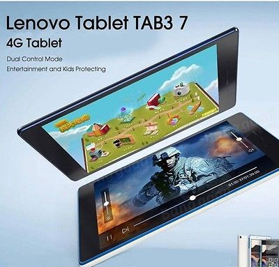 Original Lenovo Tab3 7inch 16G Android 6.0 Tablet 4G LTE