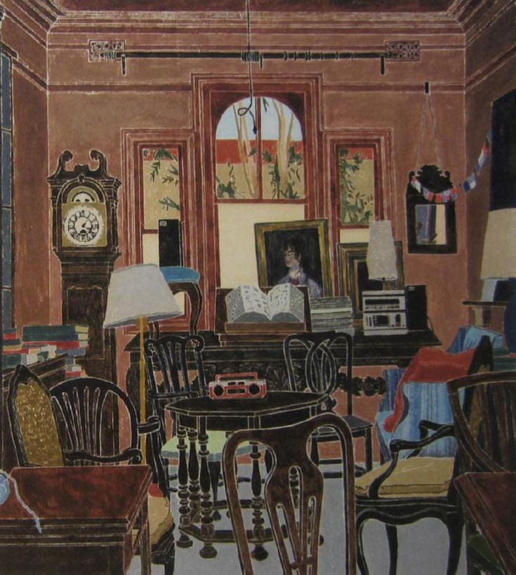 Cresssida Campbell - The Front Room 1987