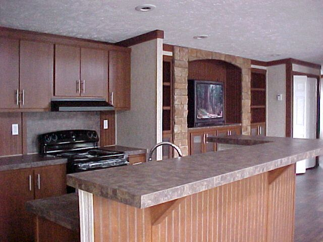 25 best ideas about triple wide mobile homes on pinterest for Single wide mobile home kitchen ideas
