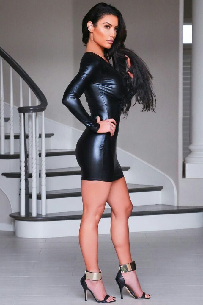 Pin By Abby Lopez On Yup Dresses Leather Dresses Tight