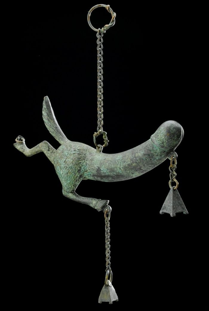 The Institute of Sexology exhibition – in pictures | Art and design | The Guardian  Solid bronze phallic amulet in for of priapus with hindquarters of horse, Graeco-Roman, 100BC-400