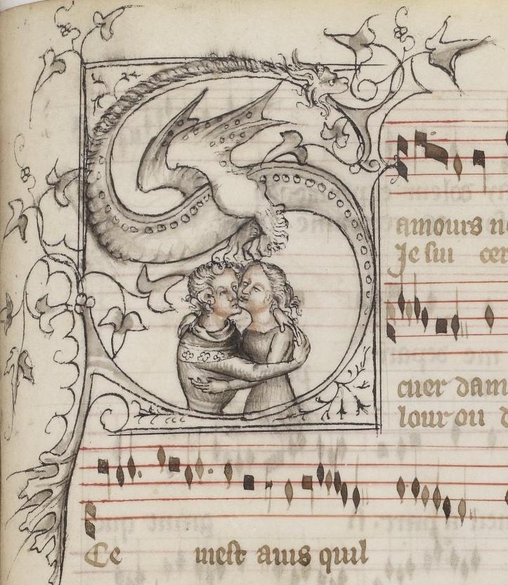 Les Poésies, Guillaume de Machaut, 1301-1400, BNF