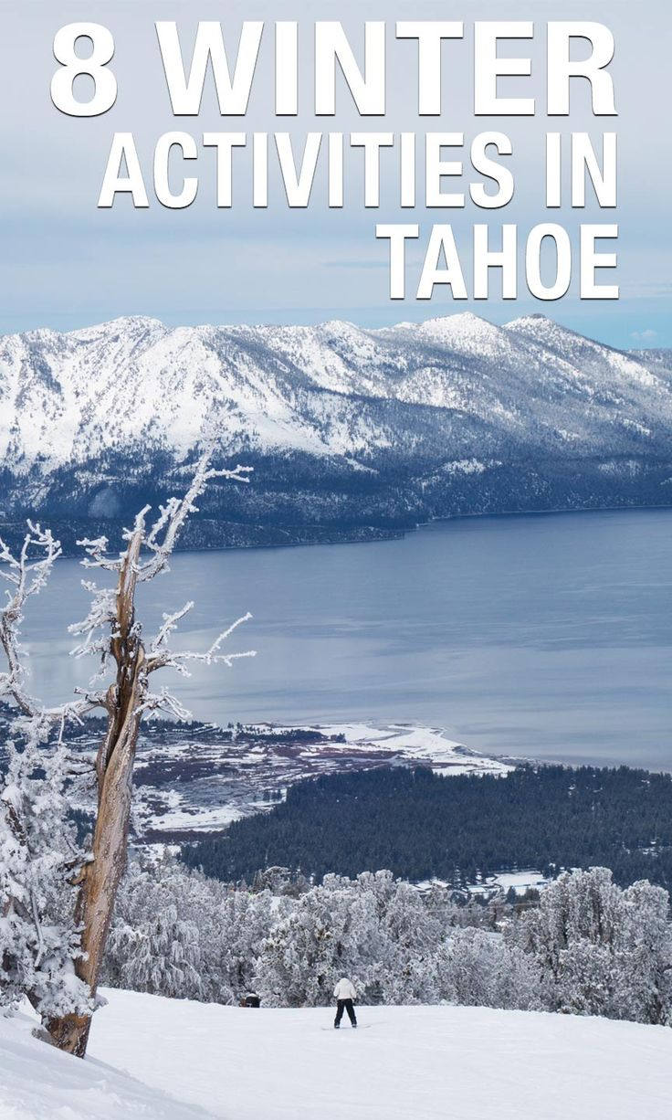 Eight Adventures to Have in South Lake Tahoe in the Winter via @cathroughmylens