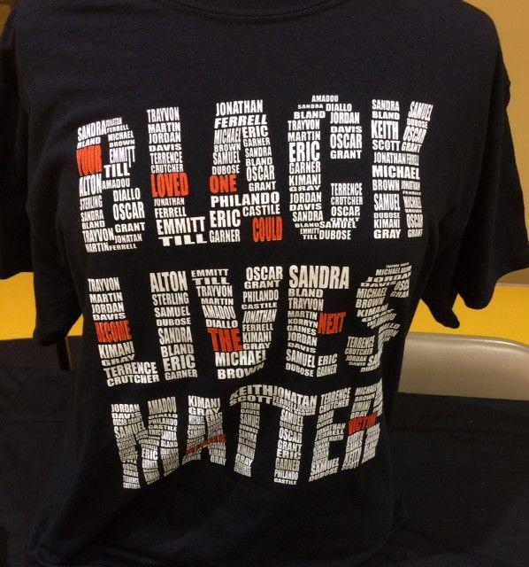BLACK LIVES MATTERS 2 SHIRT #BLM2