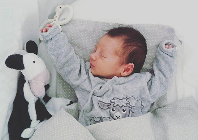 Little Liam's best pal Paulina the Cow 🐾🐄 . . #candidchildhood #sophielagirafe #plush #plushie #plushtoy #comforter #comforterbaby #newborn #babyshower #babygift #newborngift #teddybear #babyshop #babymusthave #handmade #toy #babytoy #expectingmom #monochrome #instababies #igbabies #babyaccessories #momtobe #nursery #nurserydecor #nurseryaccessories #fashionkidsdiary #pregnantchicken #laptitmag