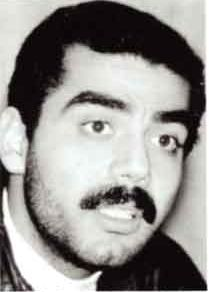 Uday Hussein, Saddam's son, murdered his father's personal valet and food taster with an electric carving knife in front of dinner guests at Suzanne Mubarak's birthday party for introducing his father to his second wife.