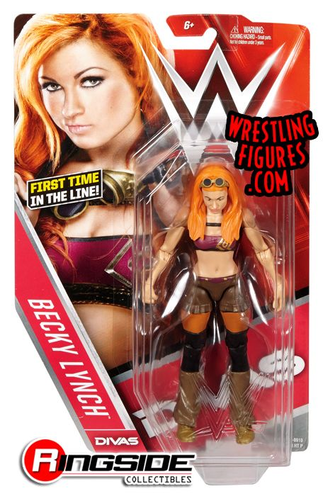 Becky Lynch - WWE Series 62 WWE Toy Wrestling Action Figure