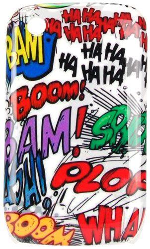 Carcasa rigida Mooster comic Blackberry 8520 #ofertas #regalos #regalar #tienda #madrid #españa Visita http://www.blogtecnologia.es/producto/carcasa-rigida-mooster-comic-blackberry-8520