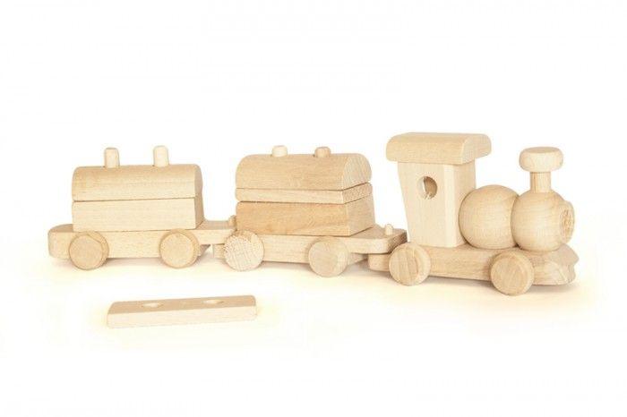 #Wooden toy #Train