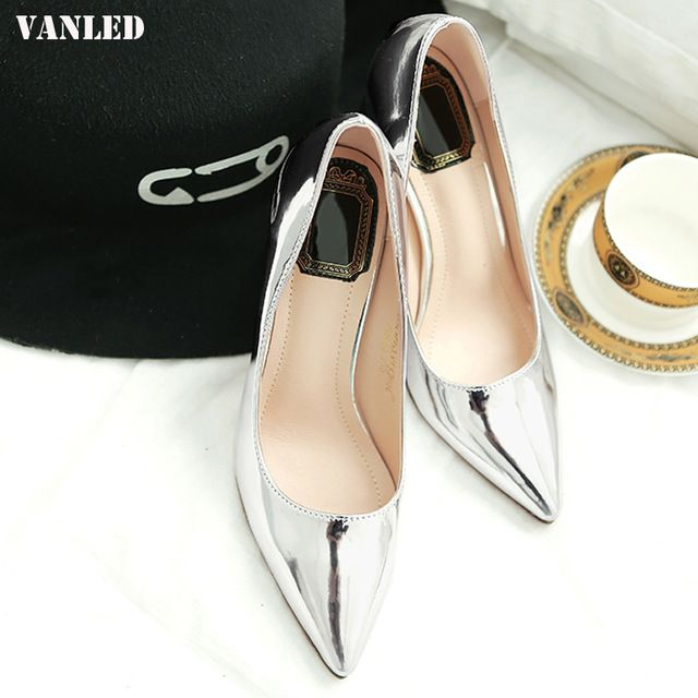 Promotion price VANLED Pointed Toe Women Pumps Casual Fashion Women Heels Pumps High Heels Single Shoes Superstar Shoes Woman Brand Shoes just only $26.90 with free shipping worldwide  #womenshoes Plese click on picture to see our special price for you
