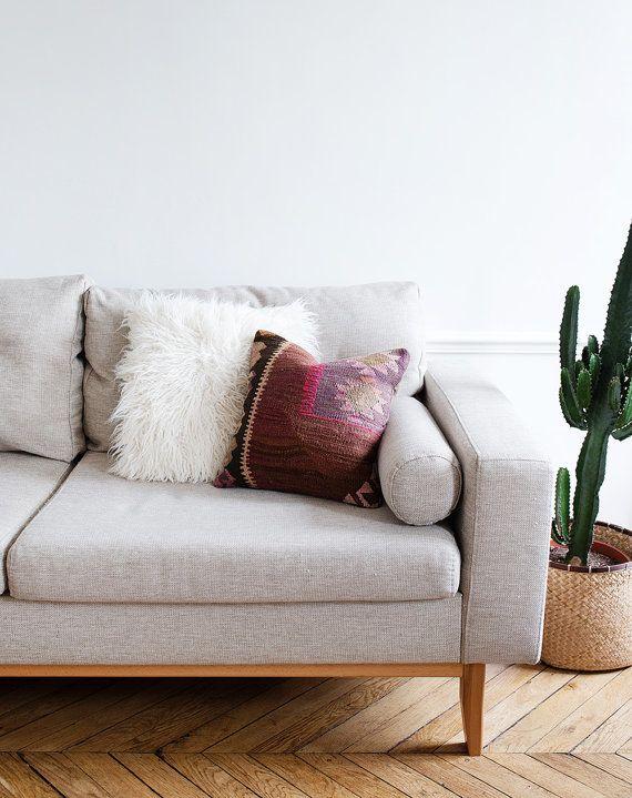 Vintage Turkish Kilim Pillow Cover Bohemian Decorative Boho Cushionskilim Pillowsdining Roomliving
