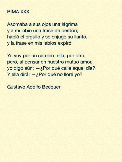 Especial Gustavo Adolfo Becquer