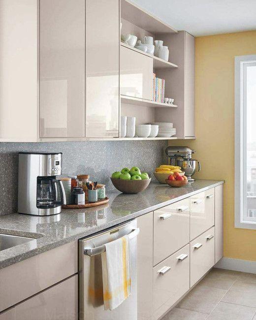 Selectionnez Votre Style De Cuisine Beige Kitchen Kitchen Design Small Kitchen Interior