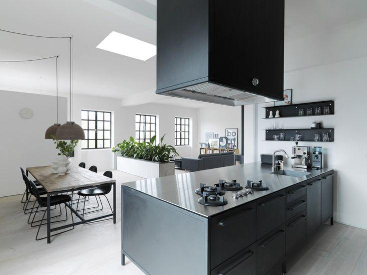 VIPP Kitchen In Danish Warehouse Apartment