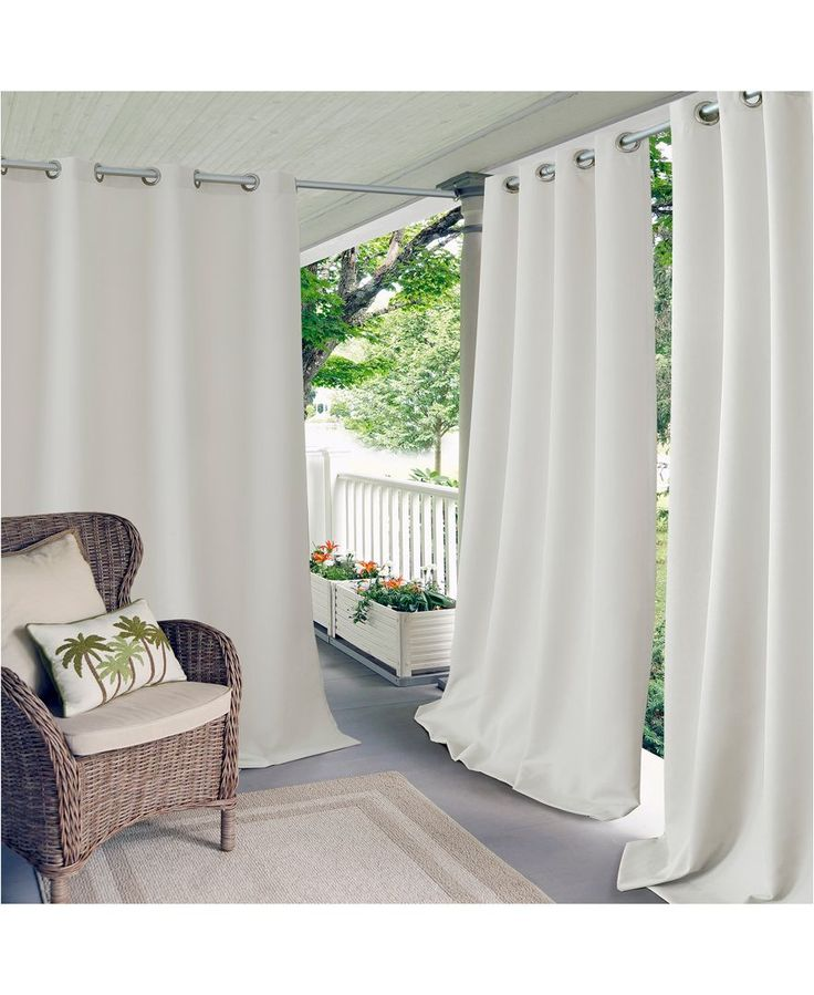 Outdoor balcony curtains 28 images outdoor curtains for Balcony curtains