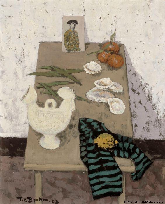 Tuomas von Boehm - Spanish Still Life, 1953