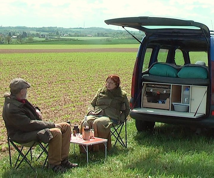 DIY Camperbox for a mini MPV With the Camperbox you can make within minutes a mini camper from a mini mpv. The camperbox has all the ingredients for enjoyable camping. ...