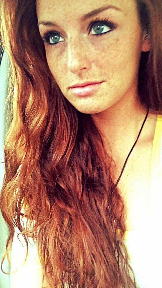 Naked dorky redhead