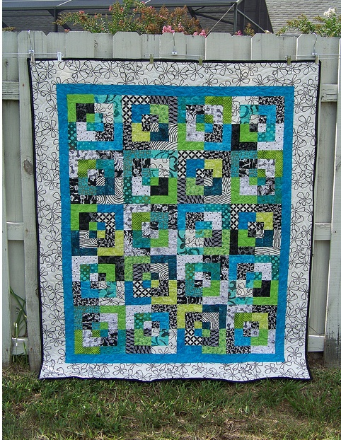 Modern quilt, great colors! | Quilts & Sewing | Pinterest ... - photo#31