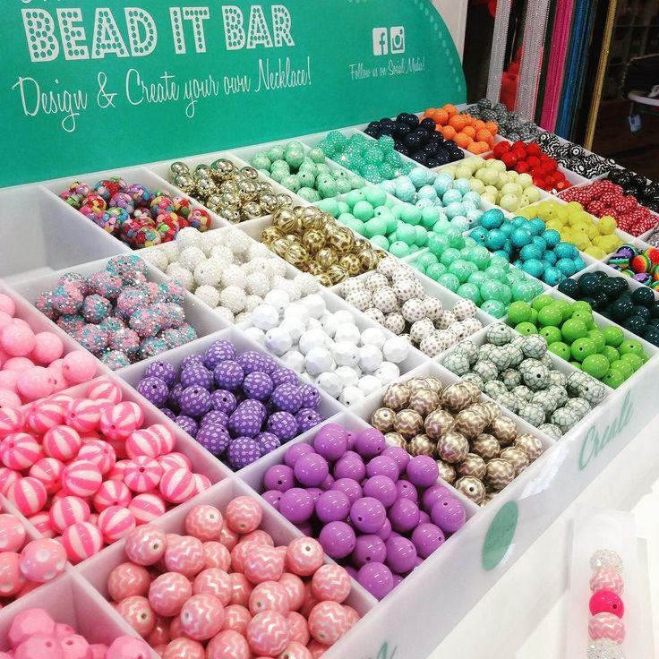 The Bead It Bar is Here !!! Pop in and create your own design . #designyourownnecklace#thebeaditbar #beads#loveleelittleones #destinationwarrnambool #kids3280 #fashion3280 #thegirlsaregonnaloveit# by loveleelittleones