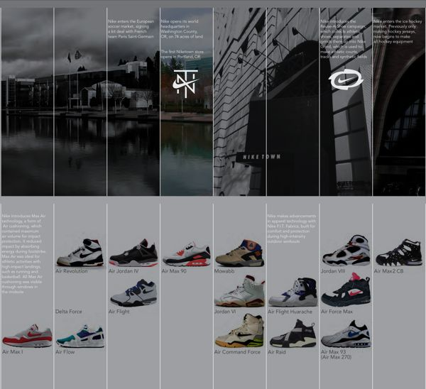41 best images about coffee table book layouts on for Nike brochure design