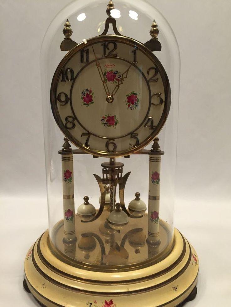 kieninger u0026 obergfell kundo 400 day anniversary clock floral works - Anniversary Clock