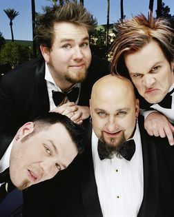 Bowling For Soup!! <3 you guys!! <3 the songs - High School never ends and 1985!! <3