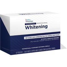 Buy Crest 3D Whitestrips from just £12.95 >> FREE DELIVERY! UK's largest supplier of Crest Whitening Strips >> Cheapest Prices. Visit at:   http://www.whitestrips4u.com/crest-whitestrips-16-c.asp