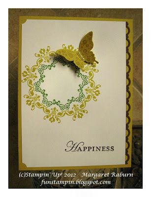 Fun Stampin' with Margaret!: Daydream Medallions CCMC222 - Day 6