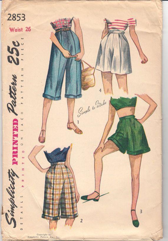 1950's Simplicity 2853