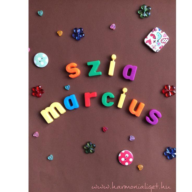 Szia Március./Hello March. - www.harmonialiget.hu