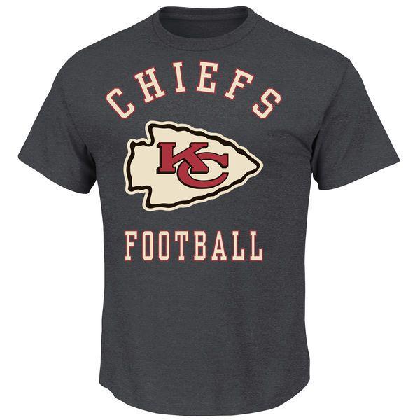 Kansas City Chiefs Defensive Front T-Shirt - Charcoal - $18.99