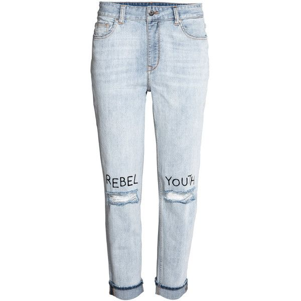 Jeans (2.420 RUB) ❤ liked on Polyvore featuring jeans, pants and blue jeans